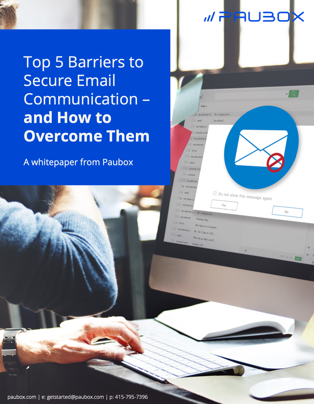 Barriers to Secure Email Communication Whitepaper